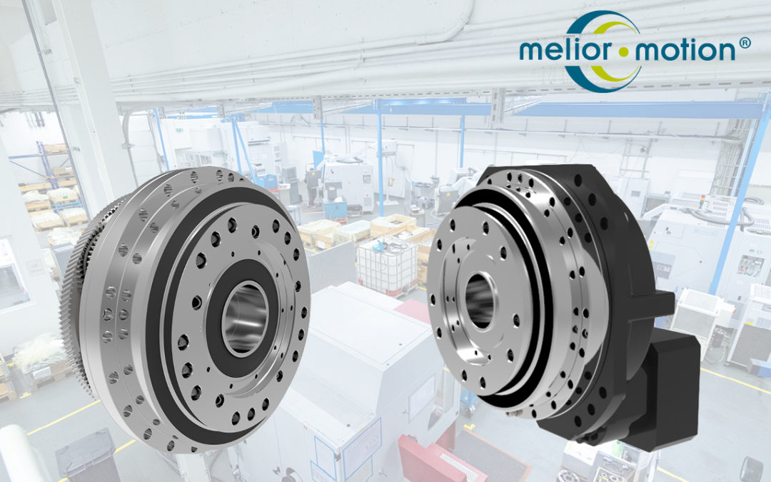 The PSC series – High precision gearboxes from Melior Motion