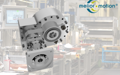 PSD gearboxes – Robotic gearboxes for special applications